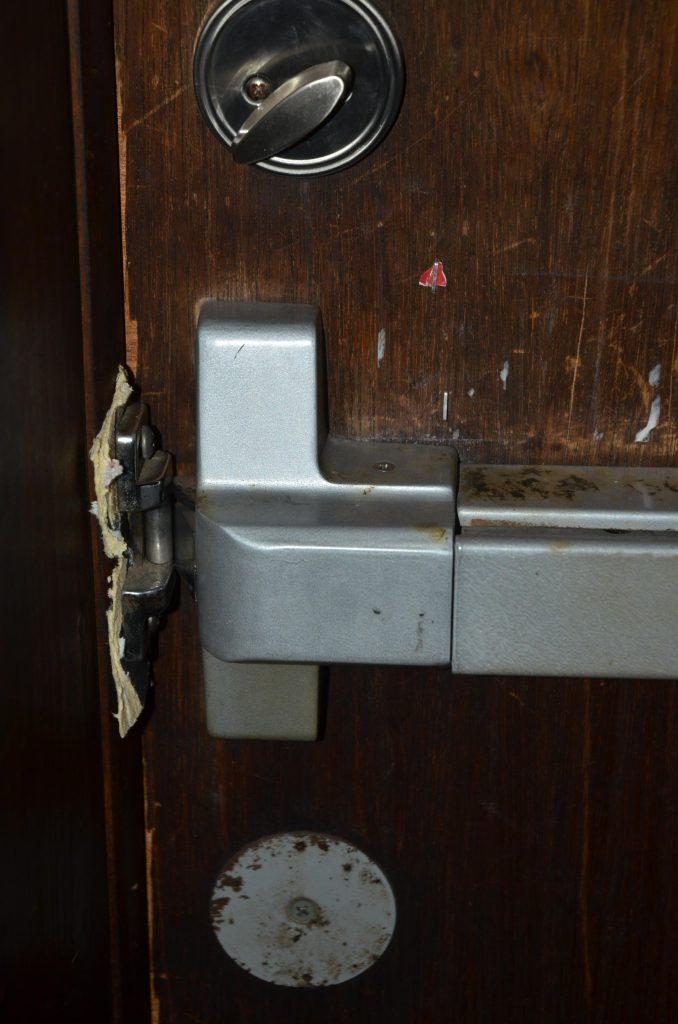 kapot slot deur